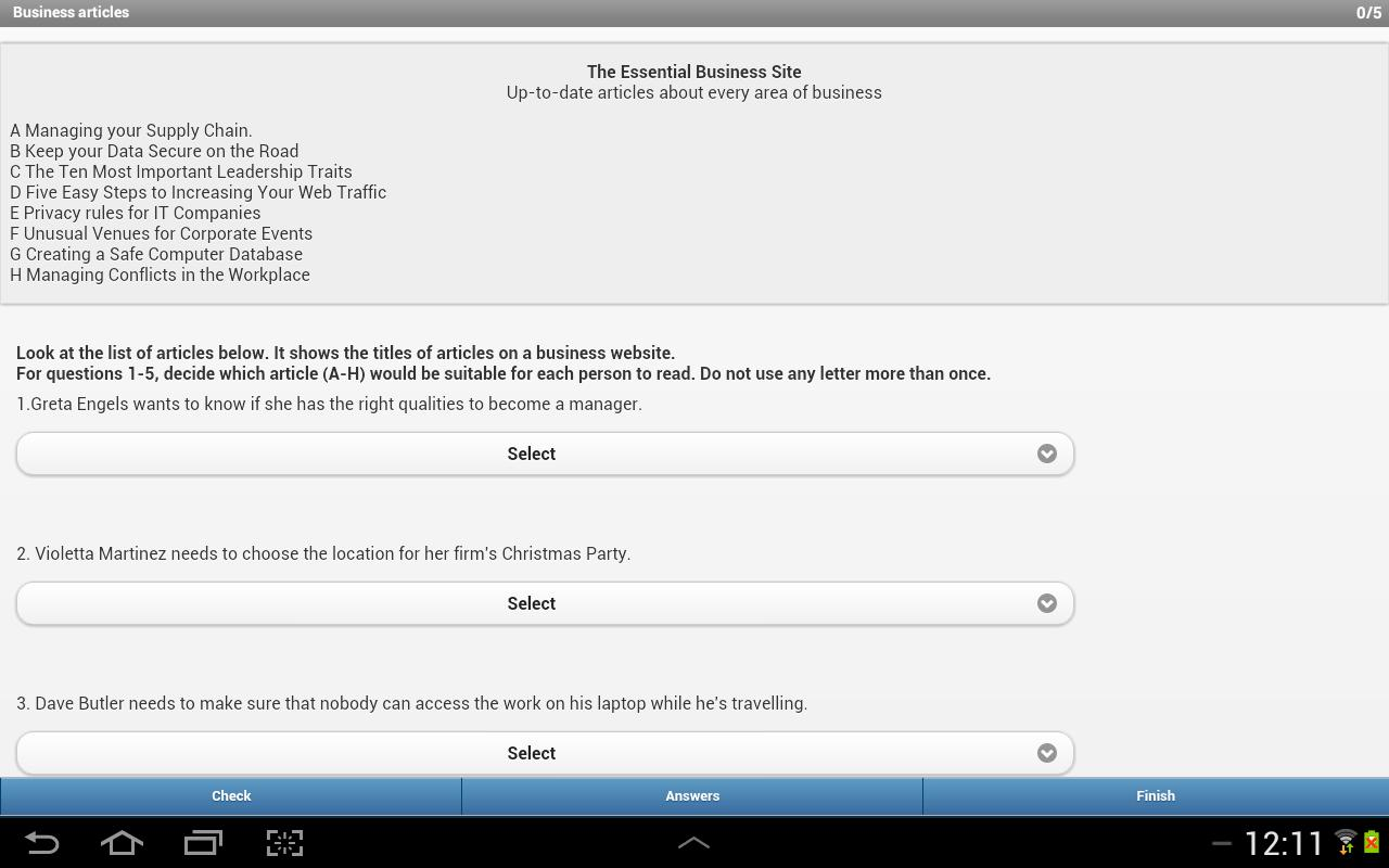 IELTS Reading for Android - APK Download
