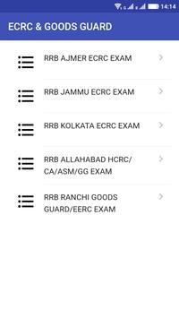 RRB ECRC - Goods GUARD (GG) screenshot 7