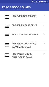 RRB ECRC - Goods GUARD (GG) screenshot 14