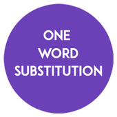 One Word Substitution for SSC CGL Exam (Offline) icon