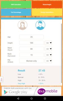 BMI Calculator: weight loss apk screenshot
