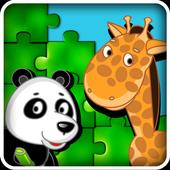 Kids Puzzle Games Animals Free icon