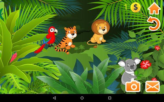 Kids Puzzle Games Animals Free apk screenshot