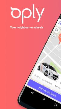 Oply Carsharing poster