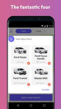 Oply Carsharing screenshot 2