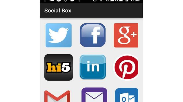 Social Box screenshot 3