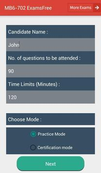 EF MB6-702 Microsoft Exam screenshot 16