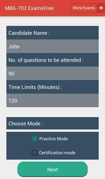 EF MB6-702 Microsoft Exam screenshot 1