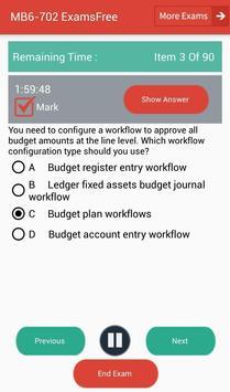 EF MB6-702 Microsoft Exam screenshot 8