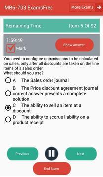 EF MB6-703 Microsoft Exam apk screenshot