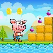 Piggy Adventure Run icon