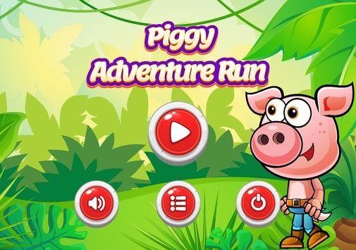 Piggy Adventure Run poster