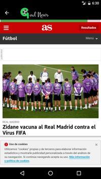 Goal News apk screenshot
