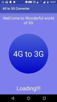 4G to 3G Converter poster