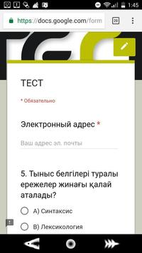 KAZtest screenshot 2