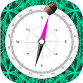 Find Qibla Direction Compass Free icon