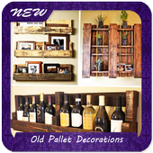 Old Pallet Decorations icon