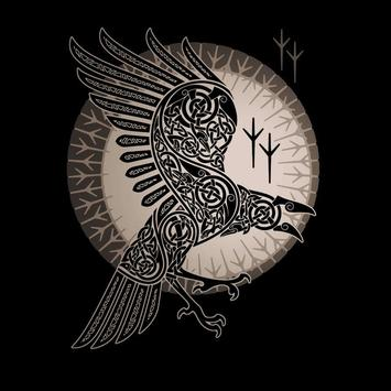 Norse Mythology Art Wallpaper poster