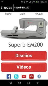 Superb EM200 poster