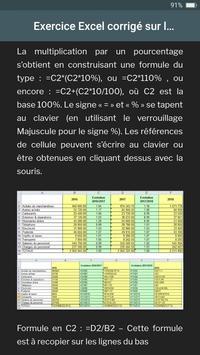 Exercices Excel screenshot 2