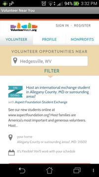 Volunteer Near You poster