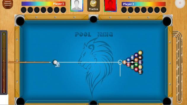 Yellow 8 ball screenshot 1
