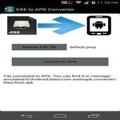 EXE to APK converter prank icon