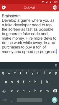 QckMail apk screenshot