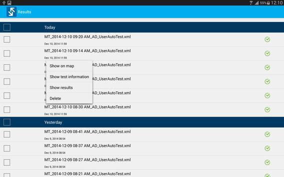 EXFO Sync apk screenshot
