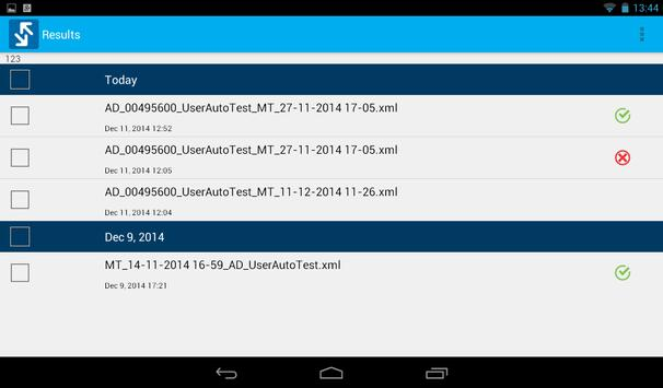 EXFO Sync screenshot 8