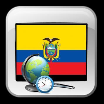 Ecuador TV listing poster