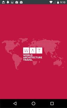World Architecture Travel poster
