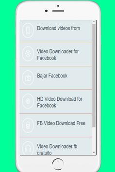 apk para descargar videos de fb