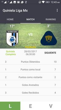 Quiniela Liga MX apk screenshot
