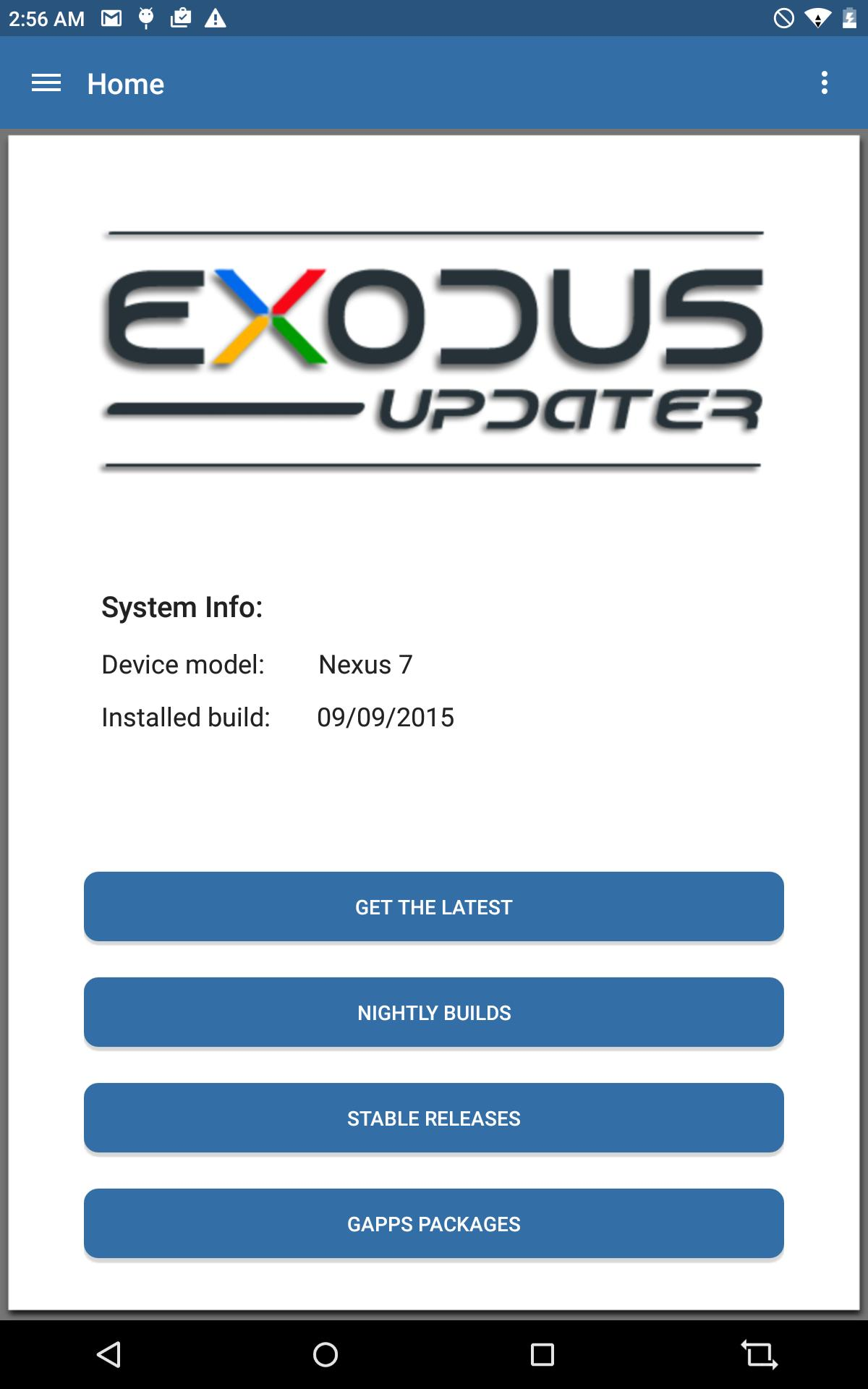 Exodus Updater for Android - APK Download