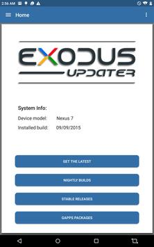 Exodus Updater screenshot 8