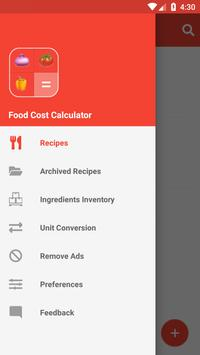 Food Cost Calculator screenshot 5