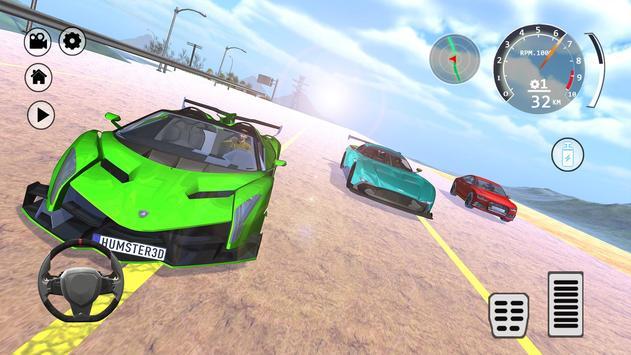 Drift Simulator: Veneno Roadster screenshot 13