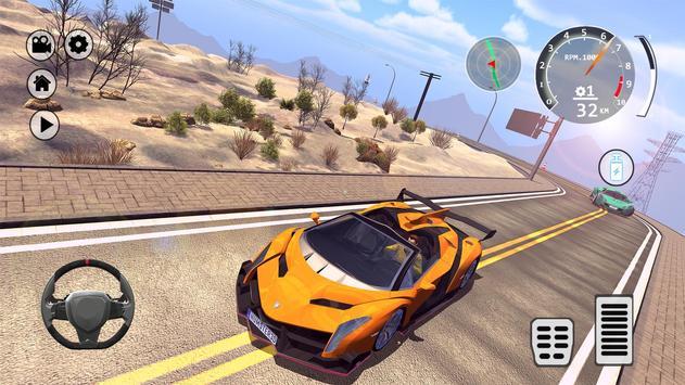 Drift Simulator: Veneno Roadster screenshot 15