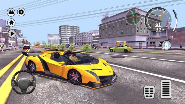 Drift Simulator: Veneno Roadster screenshot 19