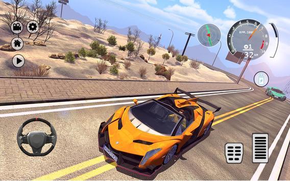 Drift Simulator: Veneno Roadster screenshot 1