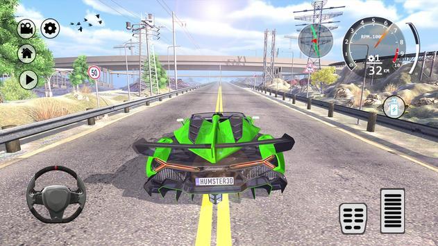 Drift Simulator: Veneno Roadster screenshot 7