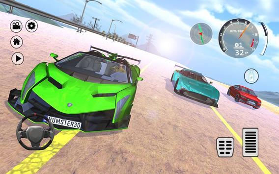 Drift Simulator: Veneno Roadster screenshot 6