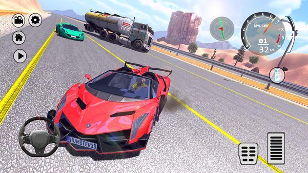 Drift Simulator: Veneno Roadster screenshot 9