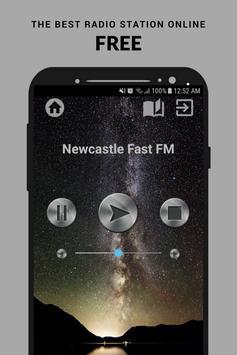 Newcastle Fast FM Radio App UK Free Online poster
