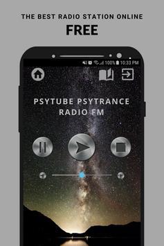 PsyTube Psytrance Radio FM poster