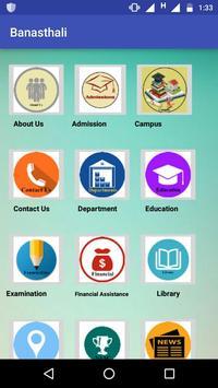 Banasthali University poster