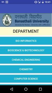 Banasthali University apk screenshot