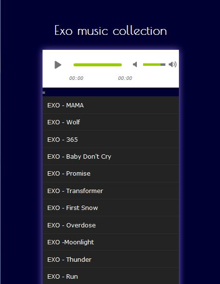 K-POP Exo Monster Mp3 for Android - APK Download
