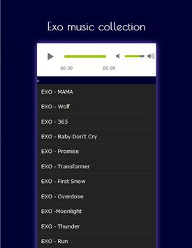 K-POP Exo Monster Mp3 apk screenshot